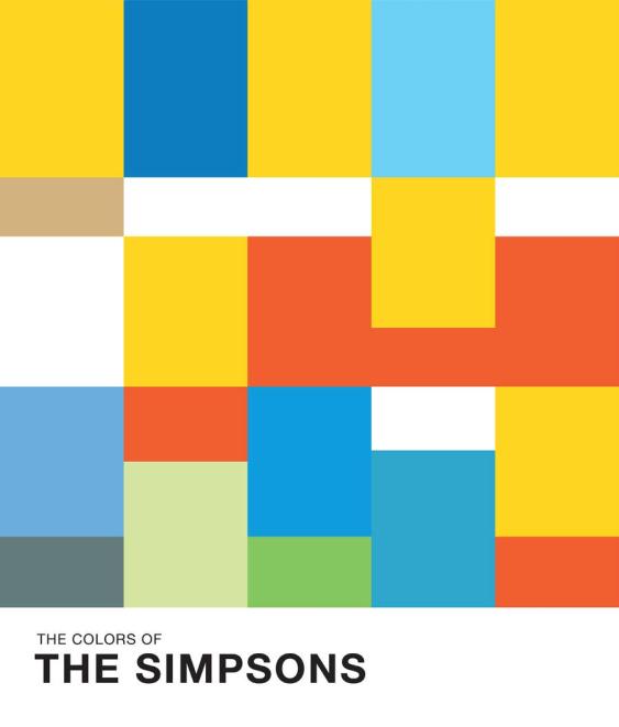 Jugo de colores. Los Simpson