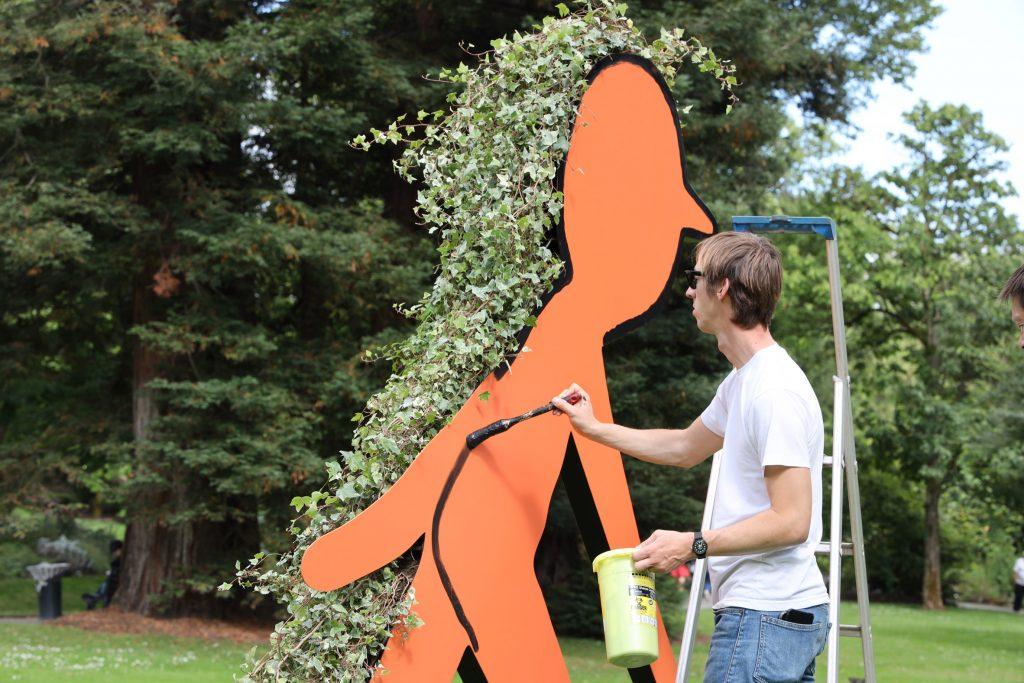 Jean Jullien. Ilustración en parques