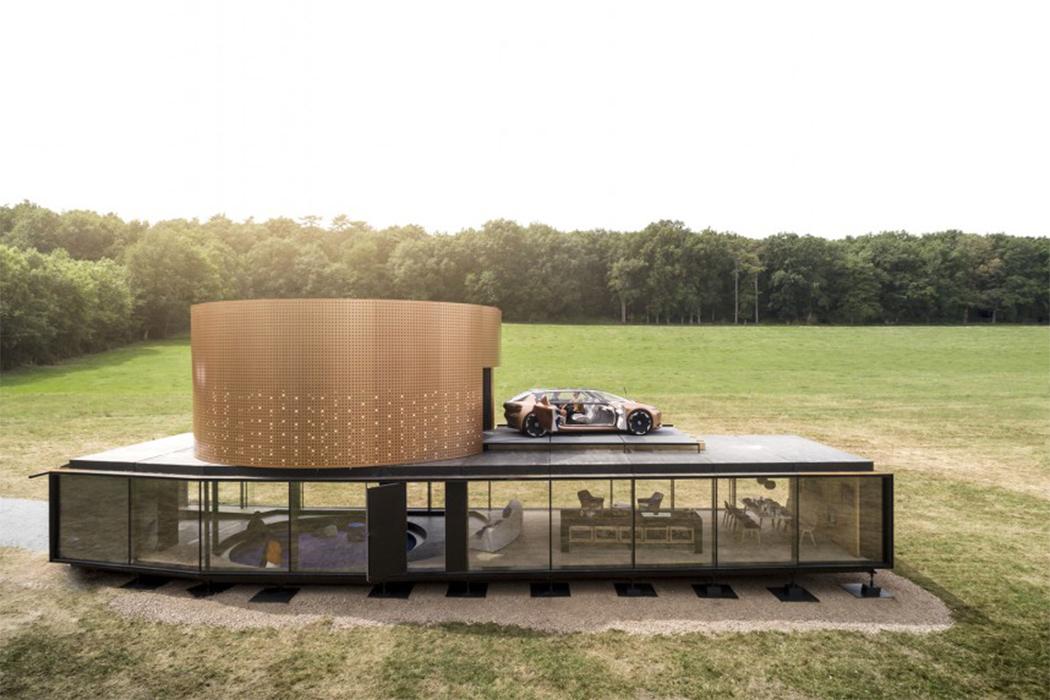 Una casa diseñada para el auto