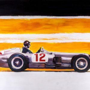 Mercedes Benz. Fangio