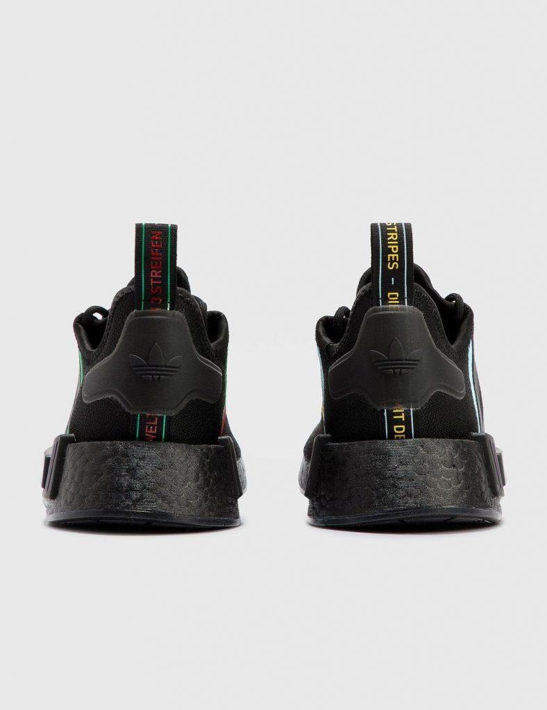 Sneakers adidas x Pixar en total black.