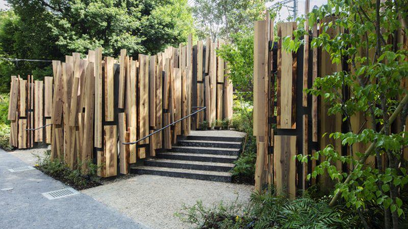 Los baños públicos de Tokio 2020 creados por Kengo Kuma.