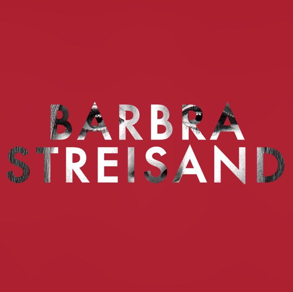 Otra pieza de diseño gráfico alrededor del nuevo álbum de Barbra Streisand.