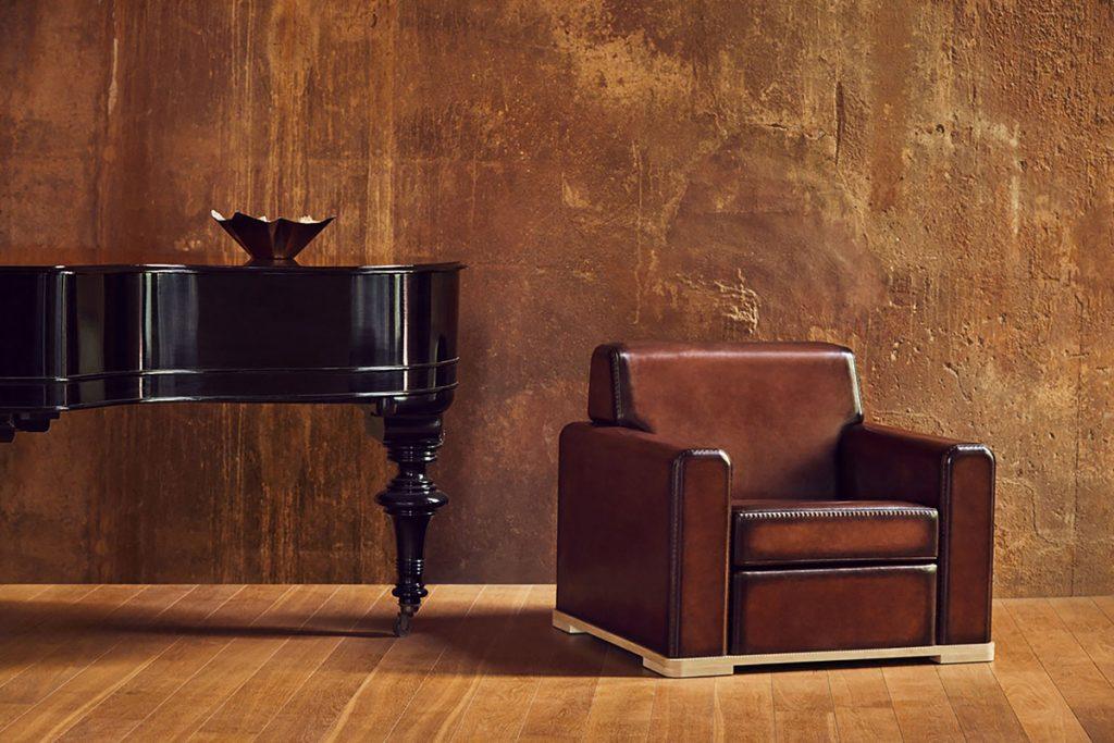 Berluti diseña muebles con el ajuste de un calzado.