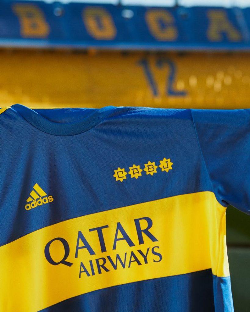El diseño de la nueva camiseta adidas rinde tributo al Metropolitano 1981 ganado por Boca. Foto: gentileza adidas.