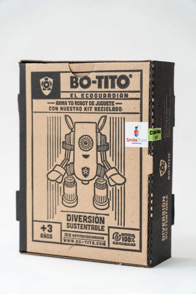 El packaging Bo-tito Ecoguardian, con diseño vintage y artesanal.