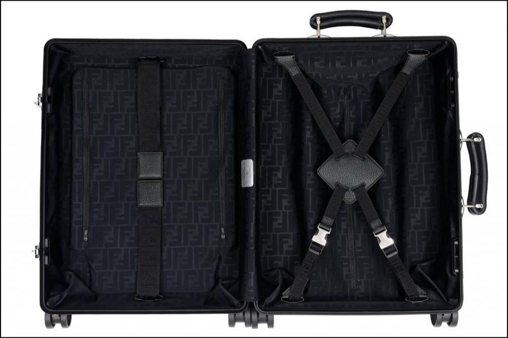 Diseño artesanal y alto rendimiento, claves de las valijas Fendi 2021.