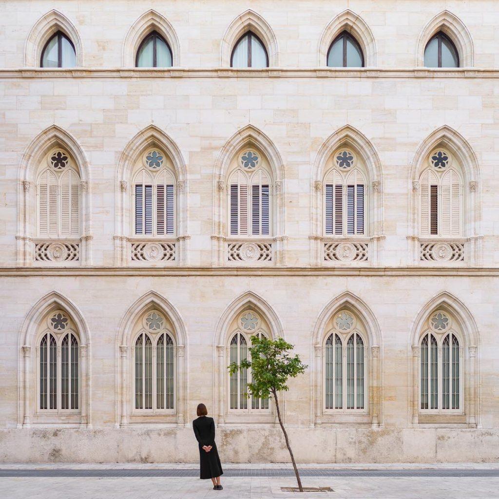 El paisaje urbano es la materia prima del proyecto fotográfico.