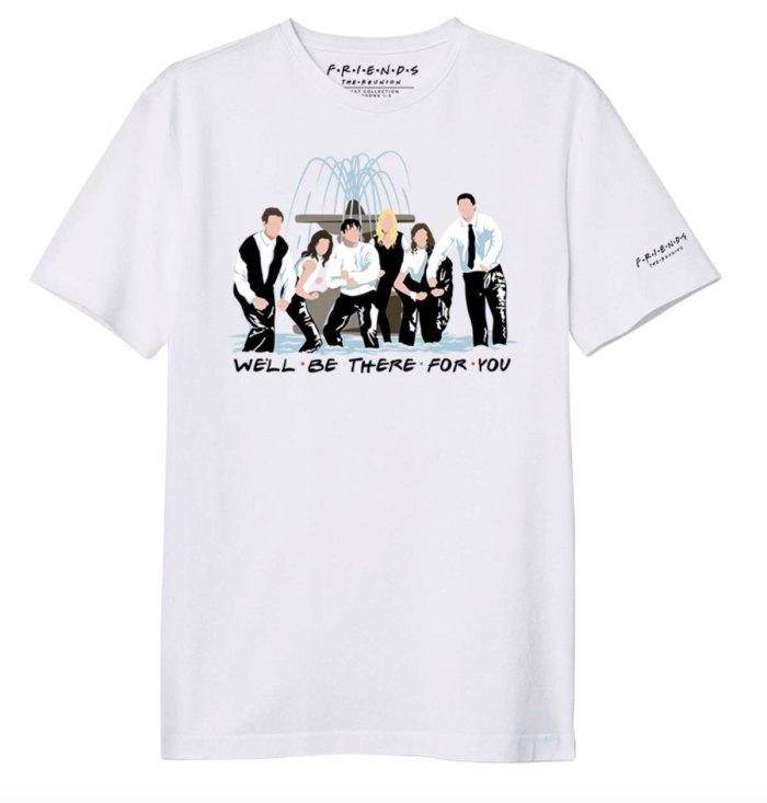 """Friends siempre está """"for you"""", ahora con una colección de ropa solidaria."""