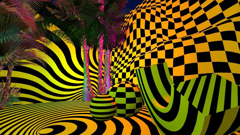 El reino de la ilusión óptica. De eso se trata Happy-Go-Lucky en Nueva York.