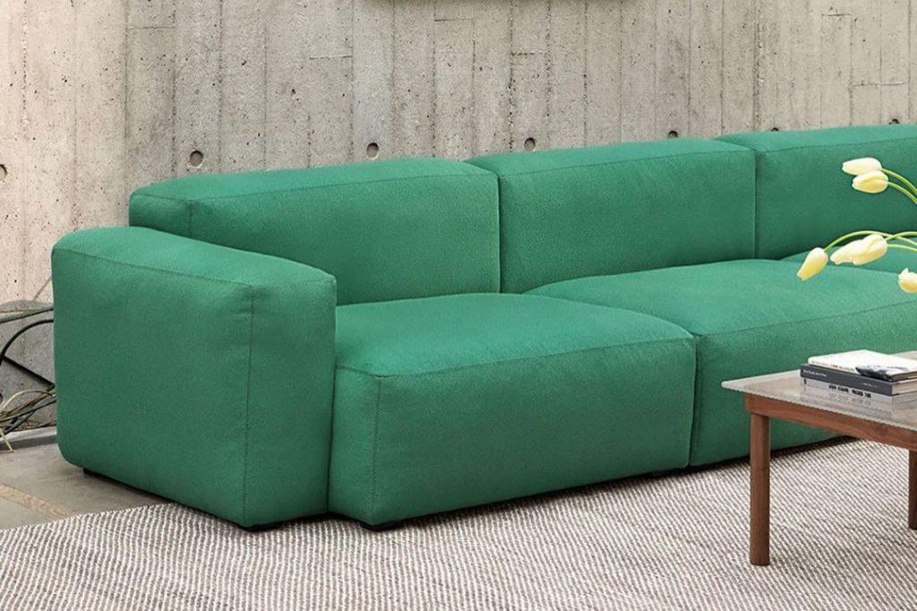 El súper sofá Quilton de HAY. 2021.