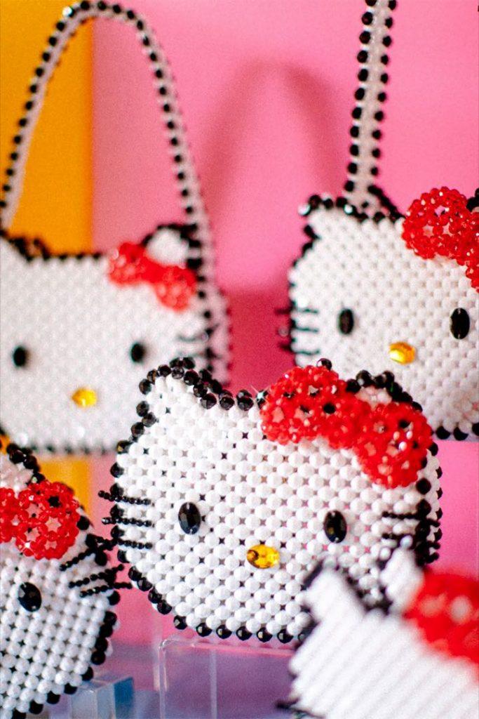 Las piezas de la línea Hello Kitty son artesanales.