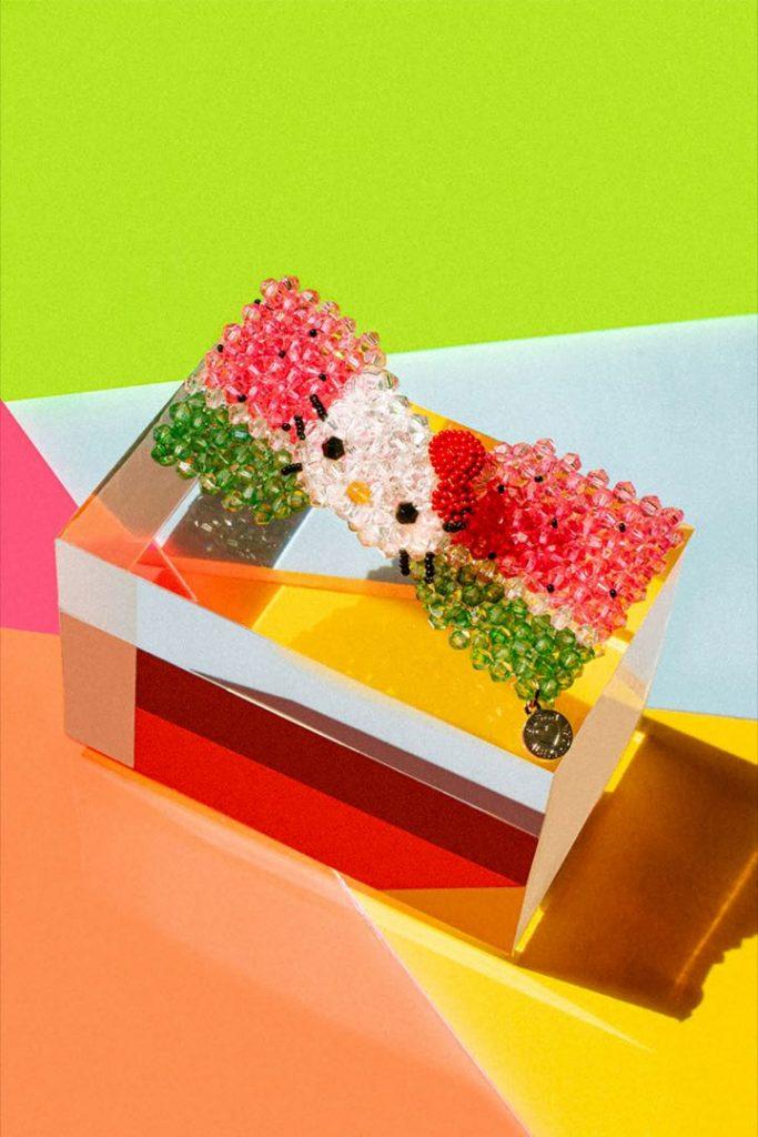 El adorable resultado de la alianza entre Sanrio y Susan Alexandra: ¡Hello Kitty!