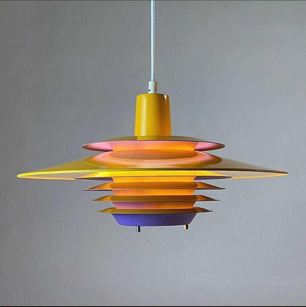 Una lámpra de la nueva colección de Deerstedt.