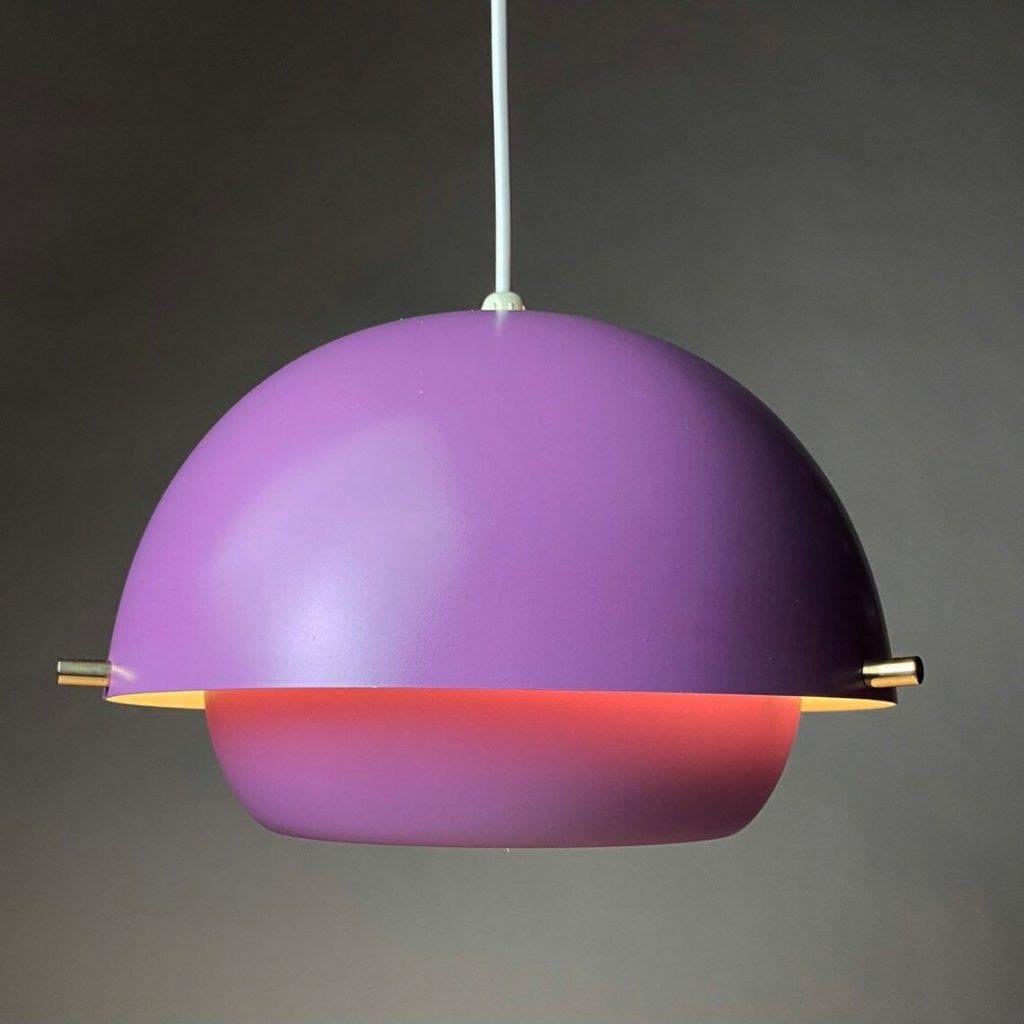 Coloridas y de diseño vintage. Así son las luces colgantes de Deerstedt.