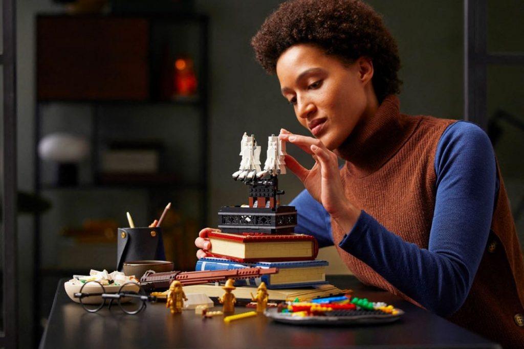 La caja 20º aniversario de Harry Potter x Lego tiene mnás de 3.000 bloques.