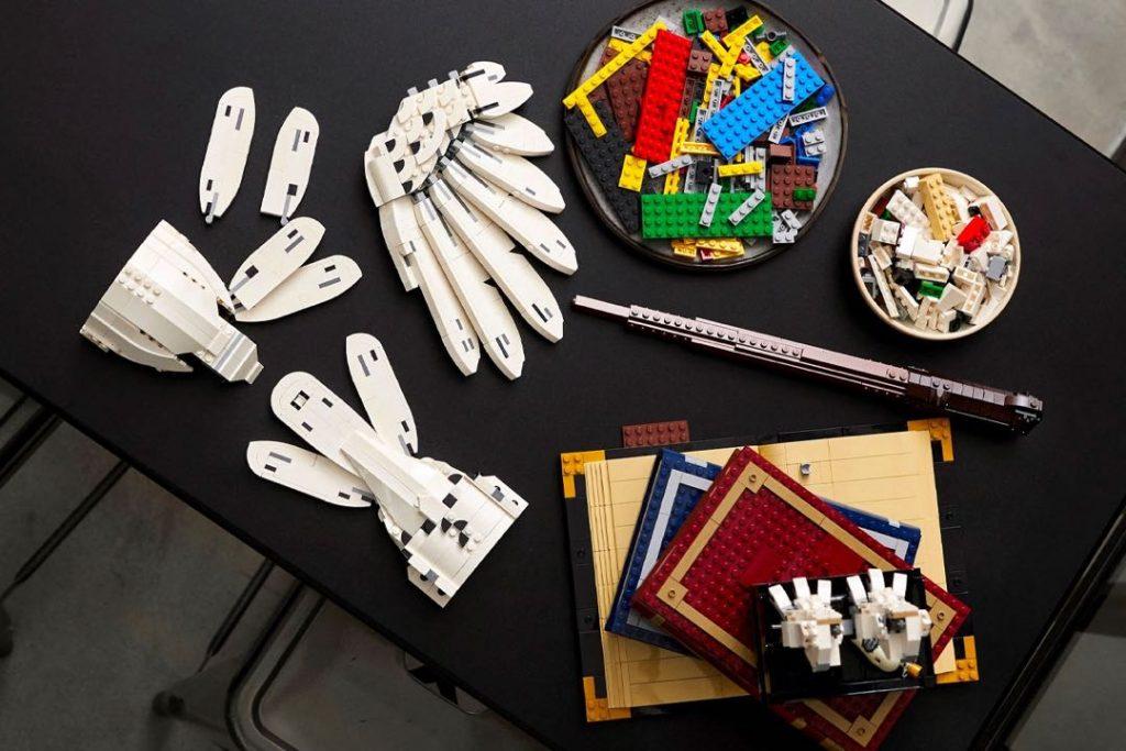 Objetos de deseo para armar para los fans de Harry Potter y Lego.