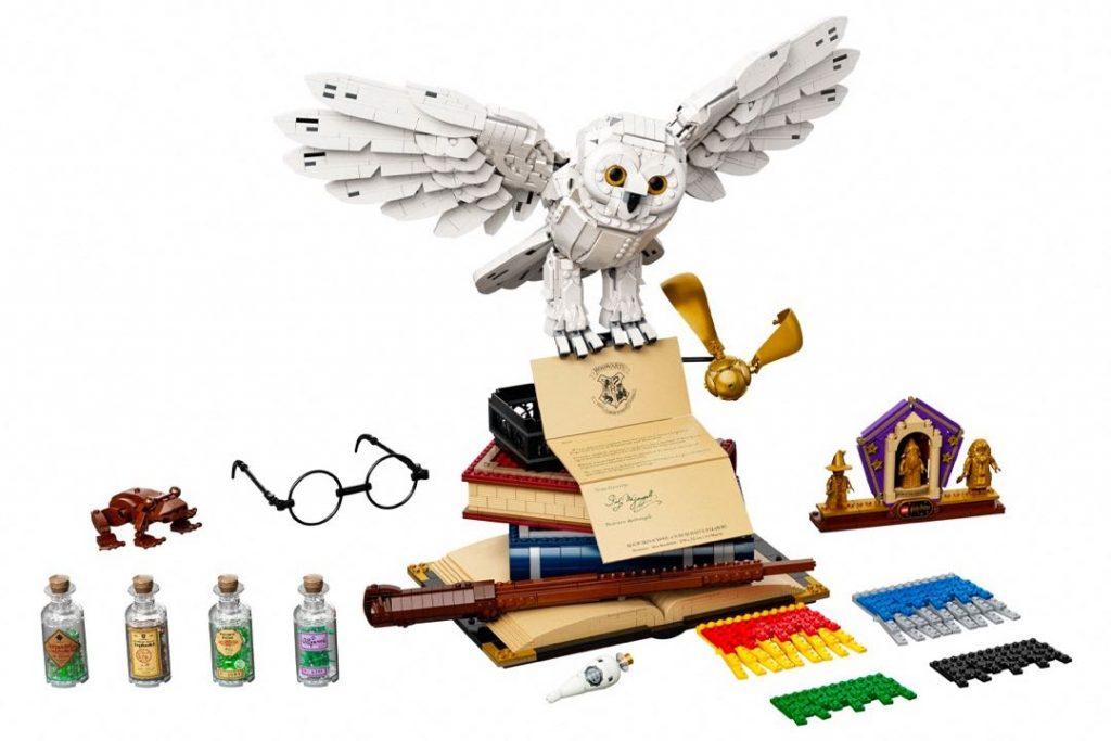 Un set de íconos de la saga Harry Potter by Lego.