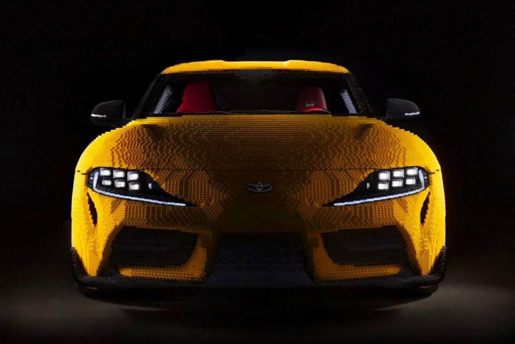 Para armar el Toyota Supra de Lego se utilizaron 480.000 piezas.