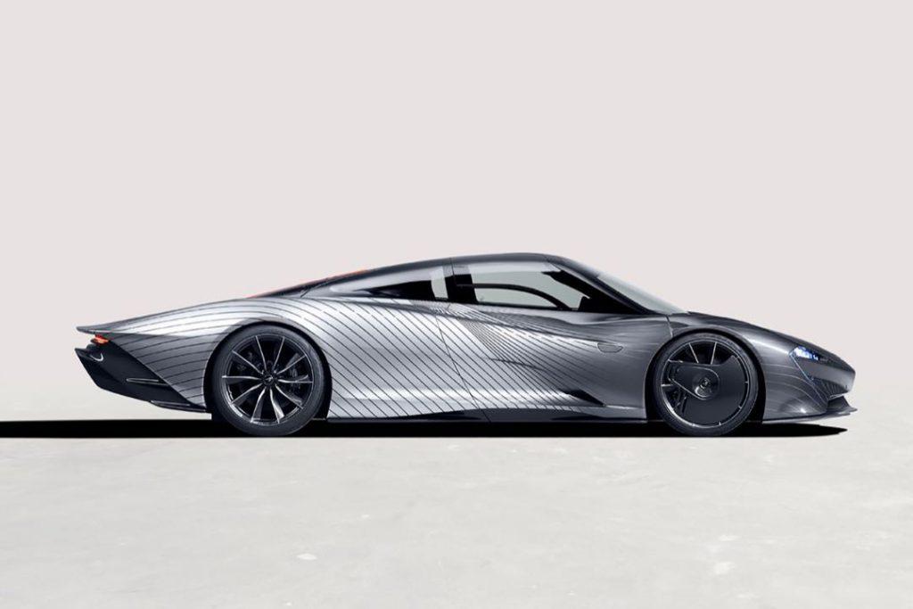 El espectacular McLaren Speedtail.