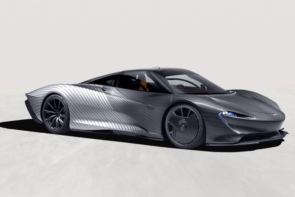 El McLaren Speedtail cuesta 2 millones de euros.