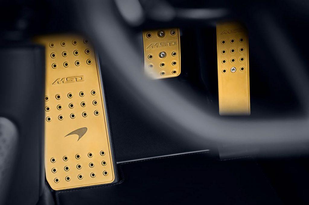 McLaren Special Operations (MSO) se inspiró en modelos ganadores de F1 y Le Mans.