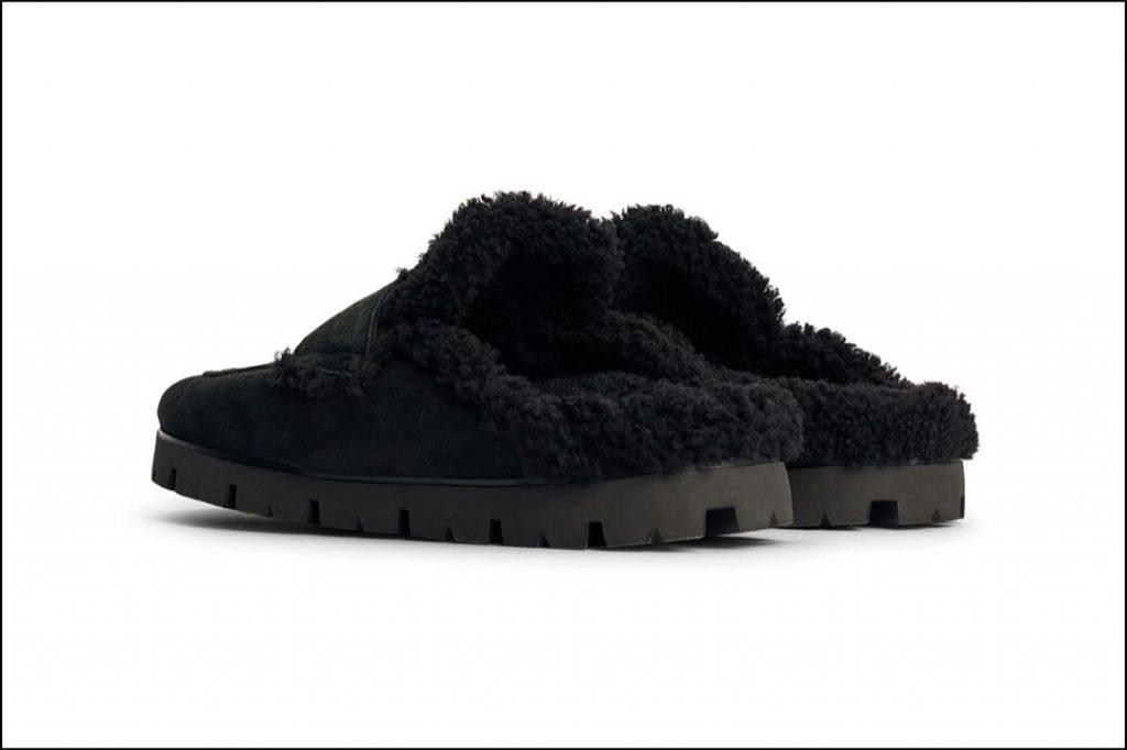 En 360ª, las pantuflas 2021 de Prada son una de las más comfy de la temporada.