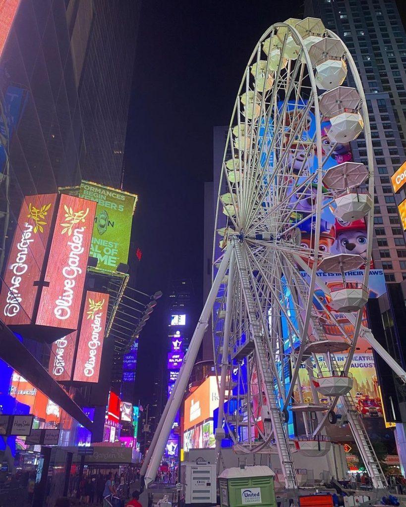 La vuelta al mundo de Nueva York estará abierta hasta el 12 de septiembre.