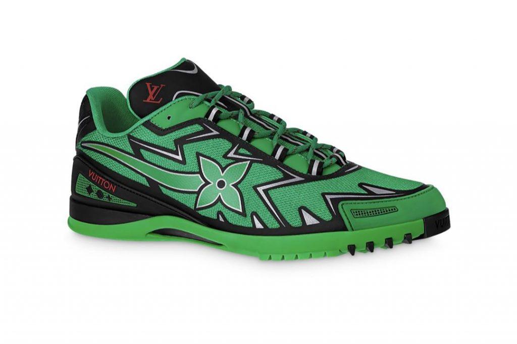 Las nuevas zapatillas Sprint de Louis Vuitton.