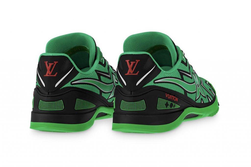 Sprint de Louis Vuitton, inspirado en el calzado del fútbol americano.