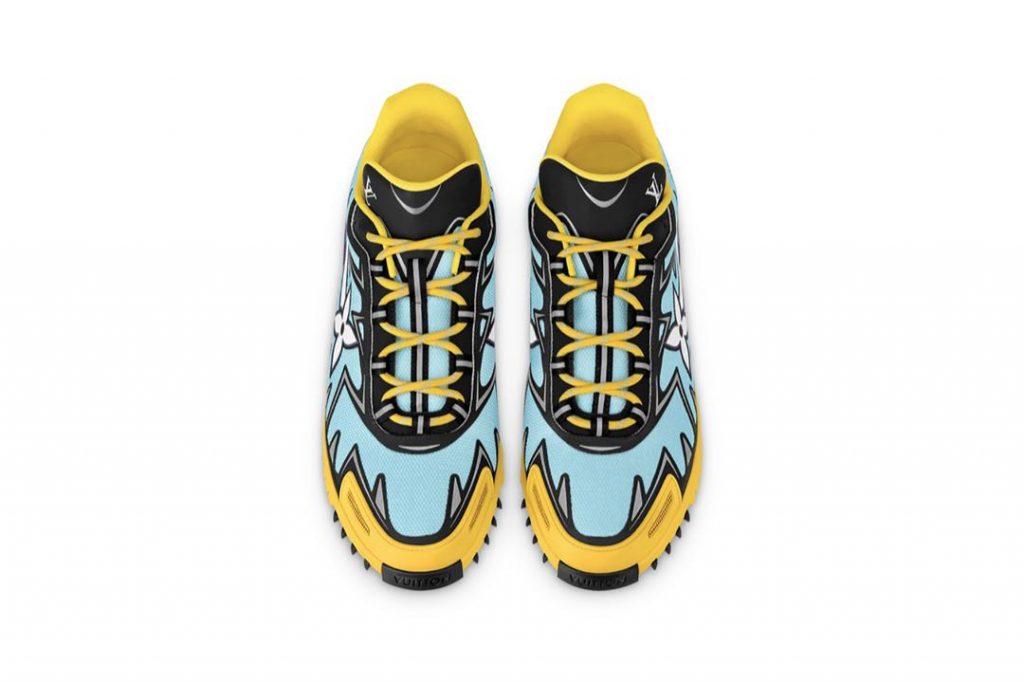Sprint de Louis Vuitton, con inspiración deportiva y súper fashionistas.
