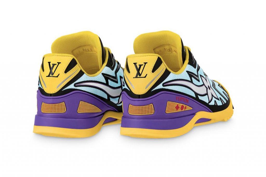 La logomanía, un ítem de diseño de las zapatillas Sprint de Louis Vuitton.