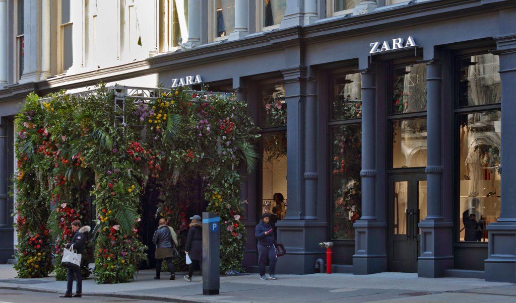 El local de Zara en Nueva York.