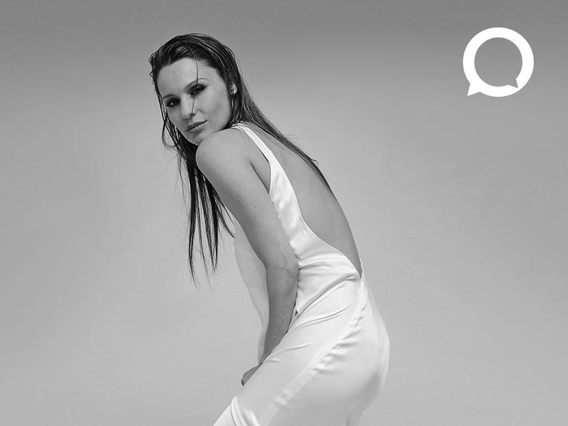 """Pampita expresa la """"Fuerza de mujer"""", la nueva causa de la campaña Principios 2021 de Grupo Atlántida."""