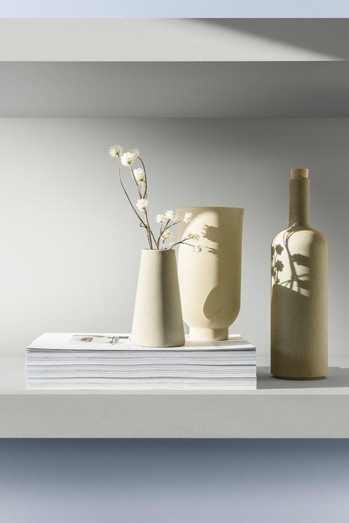 Blancos y neutros claros crean el lienzo en blanco perfecto.