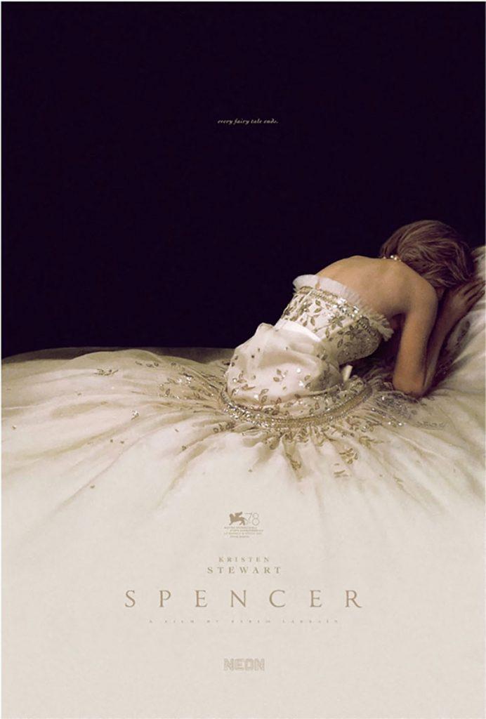 """El póster de """"Spencer"""", la biografía de Lady Di protagonizada por Kristen Stewart."""