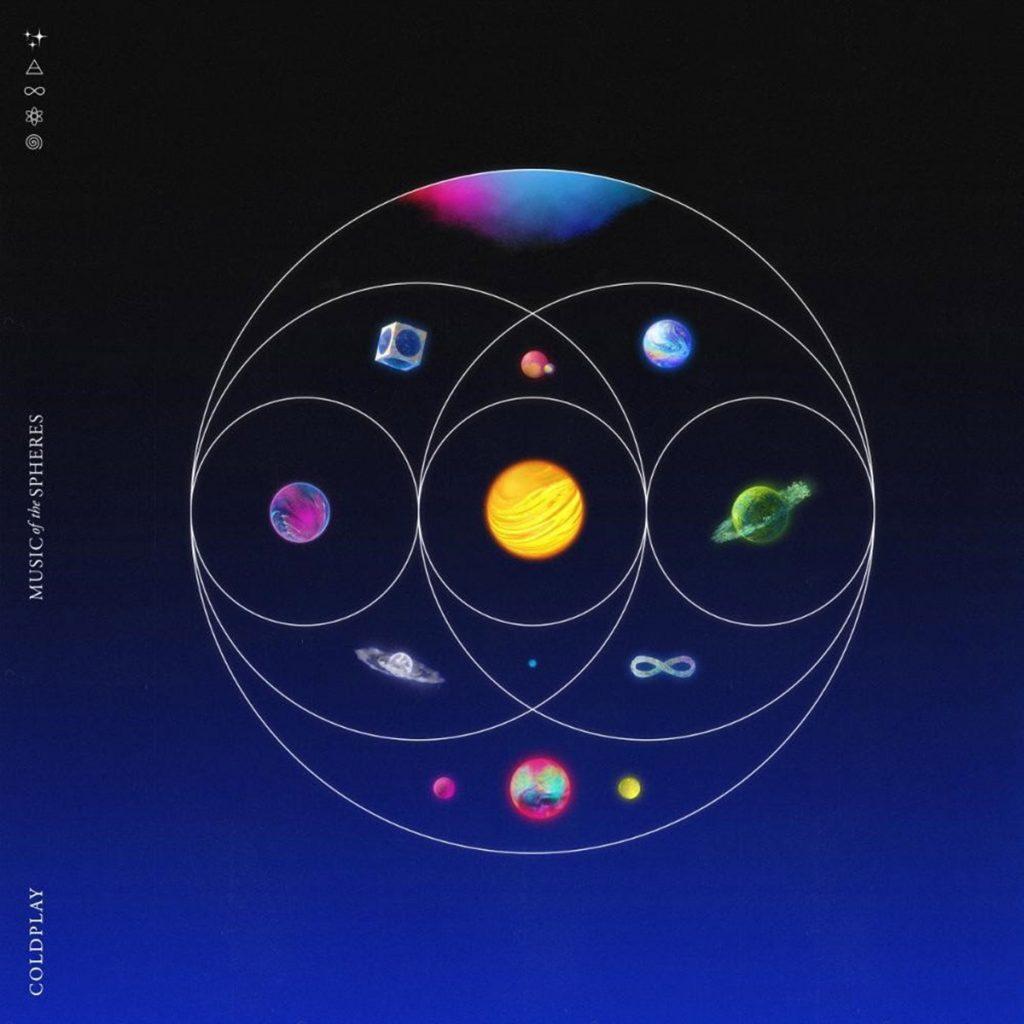 """El nuevo álbum de Coldplay, """"Music Of The Spheres"""", llega en octubre de 2021. Foto: gentileza Warner Music Argentina."""