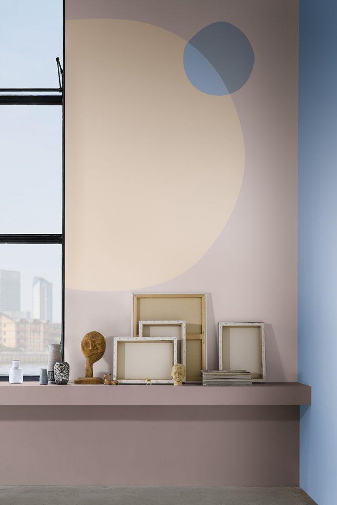 Los tonos rosas, rojos y naranjas pálidos ayudan a transformar cualquier espacio en un refugio relajante.