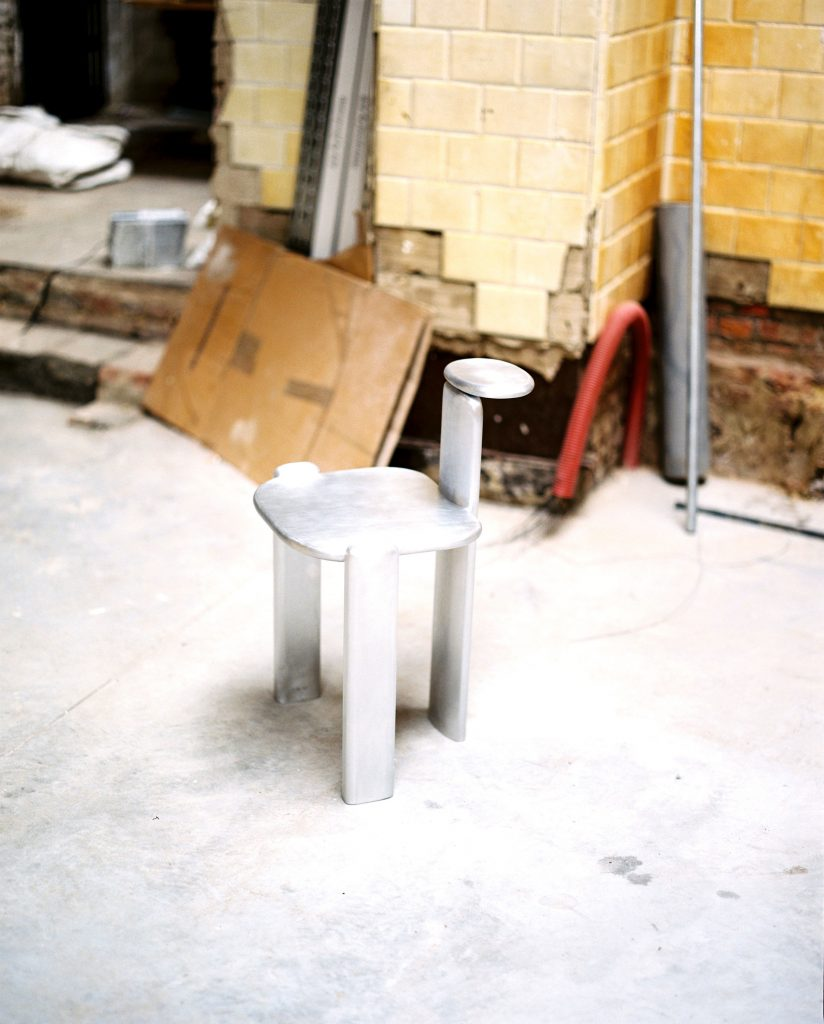 La silla de Linde Freya Tangelder.