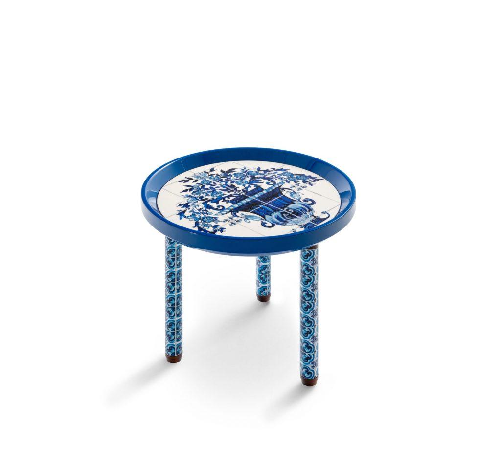 Es la priemera colección de decoración de Dolce Gabbana.