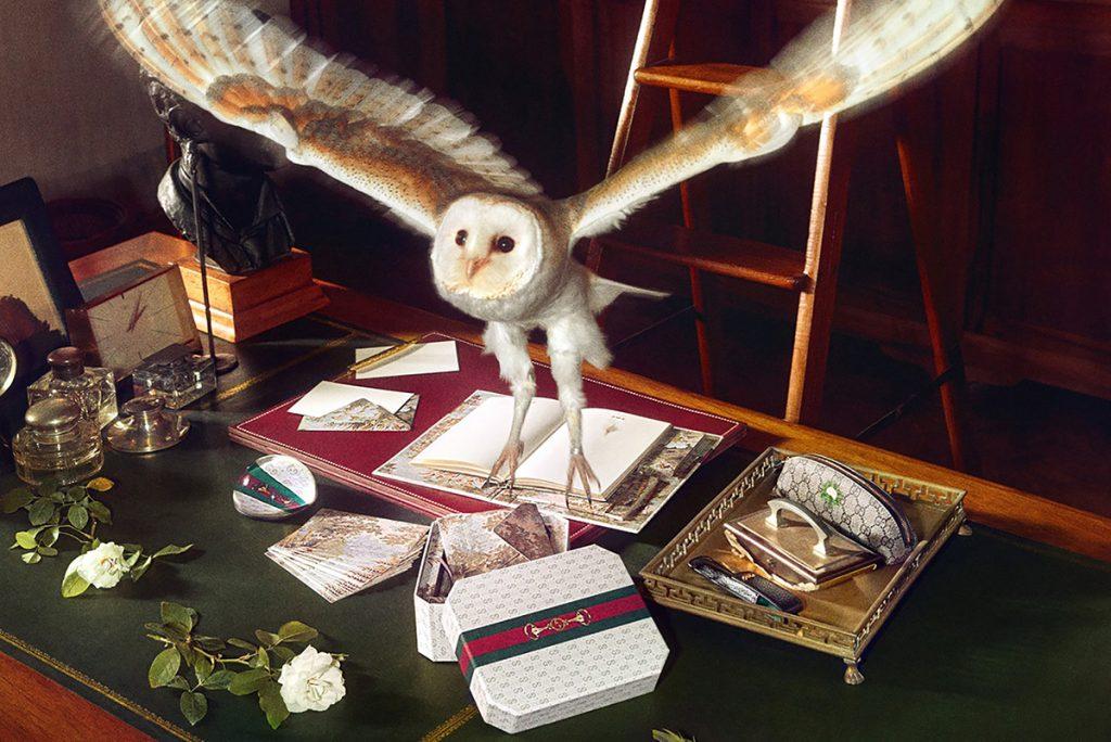 La papelería mágica de Gucci en Milán.