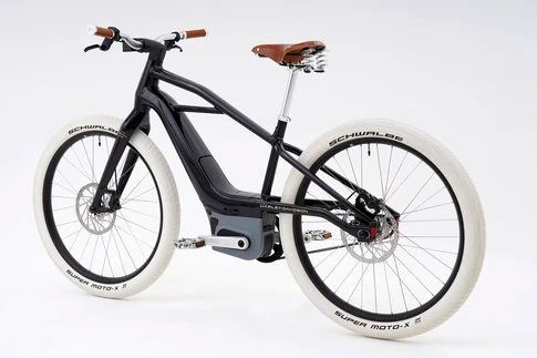 Diseño, detalles y colores 100 % Harley-Davidson para una bicicleta eléctrica única.