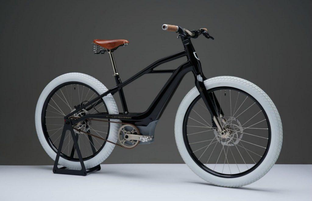 La bicicleta eléctrica de Harley-Davidson funciona con tecnología innovadora y propone un diseño vintage.
