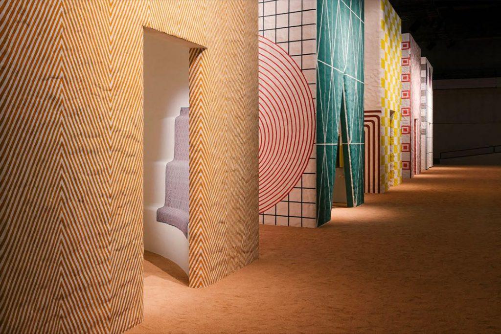 """El """"pueblo Hermès"""" en Milán para presentar la colección de decoración."""
