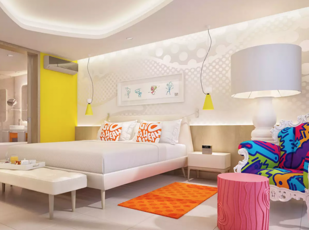 El Nickelodeon Hotels & Resorts está en la Rivera Maya, México.