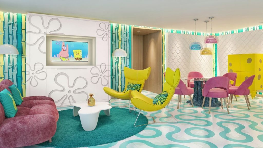 Bienvenidos al Nickelodeon Hotels & Resorts, el hotel más animado del mundo.