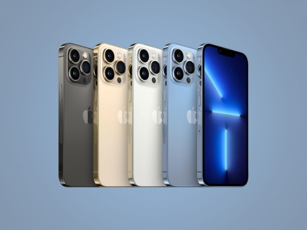 iPhone 13, la nueva generación de teléfonos celulares de Apple.