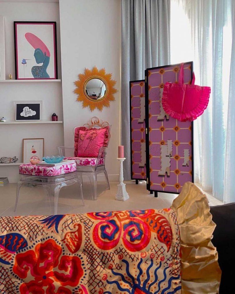 Son 26 piezas para el hogar de Ikea con el sello y el color de Zandra Rhodes.