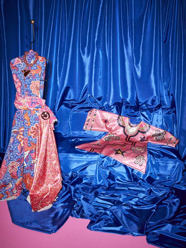 Rosa, fucsia, azul... los colores de Rhodes para la casa de otoño 2021 de Ikea.