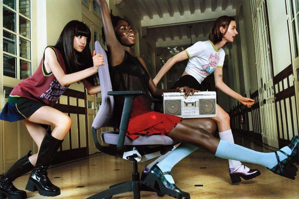 Marc Jacobs x Nodaleto con espíritu adolescente.
